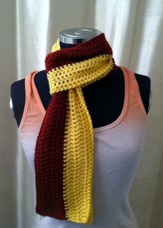 Maroon and Gold  Washington Redskins  Florida by DesiredCrochet, $24.00