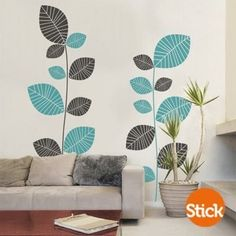 """CLICK Visit link for more info - Wall Decals: The Perfect """"Stick-on"""" Design. Tree Design On Wall, Wall Design, Diy Home Decor, Room Decor, Wall Decor, Mural Wall Art, Wall Paintings, Kids Room Paint, Wall Drawing"""