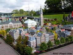 The best miniature city in the world! Medurodam! One of the coolest things I saw while in the Netherlands!