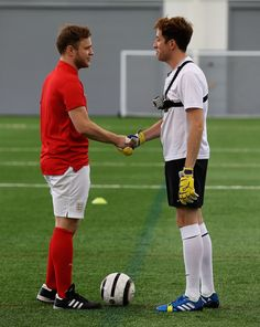 Nick Grimshaw, Olly Murs, football, celebrity, news, BBC Radio 1 five-a-side football match ,BBC,
