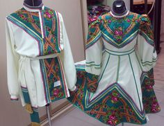 Костюм русский Dresses With Sleeves, Costumes, Long Sleeve, Outfits, Clothes, Design, Fashion, Children Costumes, Suits