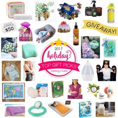 We are excited to shareMommy Scene\'s Holiday Giveawaypacked full of gifts for babies, kids, and moms! Get inspired for gift giving this year with interactive gift ideas for creative kids, practical gift ideas for baby\'s first Christmas, and luxurious gifts for yourself or the new mom in your life. #gifts #moms #giftsforbaby #newbaby #newborn #babies #newmom #babyshower #giftideas