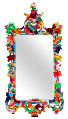 carved mirror by squint limited