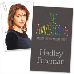 Hadley Freeman.