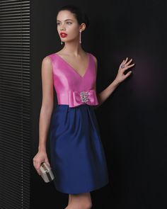 Dear brides, you really have no excuse anymore- the reign of ugly bridesmaid dresses is definitely over. The 2013 cocktail collection by Two by Rosa Clara is one place to Royal Blue Homecoming Dresses, Prom Dress 2014, Prom Party Dresses, Bridesmaid Dresses, Bridesmaids, Prom Gowns, Mode Orange, Cocktail Gowns, Mode Outfits