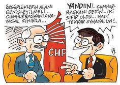 TÜRKİYE'DE SİYASİ KARİKATÜRLER ◘ Ahmet Davutoğlu