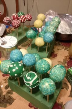#cakepops #christmas #decorations #food