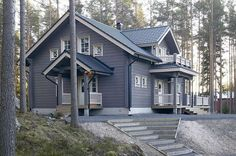 All Details You Need to Know About Home Decoration - Modern Cabins In The Woods, House In The Woods, Wood Stone, Stone Houses, Garden Pool, Log Homes, Home Interior Design, Farmhouse Style, Landscape Design