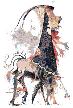 Beautiful Bizarre Magazine — Seriously amazing work by Akiya Kageichi! Art And Illustration, Illustrations And Posters, Fantasy Kunst, Fantasy Art, Arte Dark Souls, Character Design Inspiration, Fashion Inspiration, Creature Design, Japanese Art