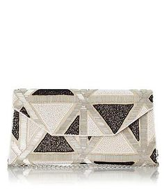 classy black and white clutch http://rstyle.me/~3wqNO