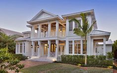 House Plan 75945   Colonial Southern Plan with 5653 Sq. Ft., 5 Bedrooms, 7 Bathrooms, 3 Car Garage