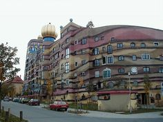 Waldspirale  Architect: Friedensreich Hundertwasser Darmstadt, Hessen, Germany