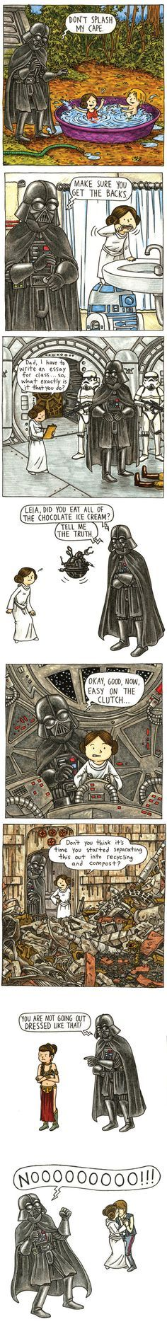 As a Dad, I totally get this. Vader's Little Princess