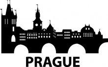 Naklejka na ścianę Praga