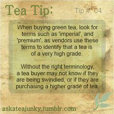 Tea Tip