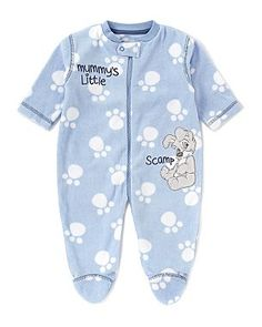 Lady and the Tramp Fleecey Sleepsuit