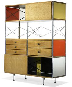 1952 modern storage by charles ray eames charles ray furniture