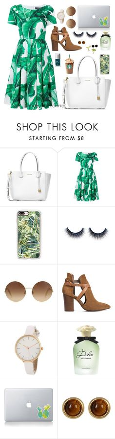 """""""i hate u, i love u"""" by princess-of-hannia ❤ liked on Polyvore featuring Michael Kors, Dolce&Gabbana, Casetify, Victoria Beckham, H London, Couture Colour, Vinyl Revolution, House of Harlow 1960 and Design Lab"""