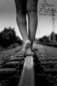 THE WALK ON THE RAIL by Adatsi Seun Nicholas on 500px