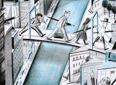 Brooklyn Bridge | Brooklyn Bridge | Yann Kebbi Américanin | Expositions | Galerie | Michel Lagarde, 13 rue Bouchardon 75010 Paris
