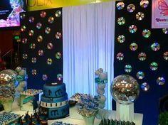 Resultado de imagem para decoração de festa disco