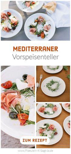 Leckere Rezepte mit Mittelmeer-Flair, kühle Getränke und warme Sommerluft. Der Sommer ist da! Wir feiern die heiße Jahreszeit mit einem neuen Rezept: Mediterraner Vorspeisenteller. Aus wenigen Zutaten schnell zubereitet und aufregend arrangiert. So gelingt euch die besondere Vorspeise.
