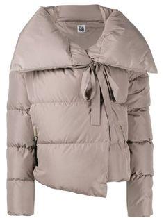 Bacon oversized collar down jacket - Grey Raincoats For Women, Jackets For Women, Vinyl Raincoat, Green Raincoat, Padded Jacket, Gray Jacket, Size Clothing, Women Wear, Bomber Jacket