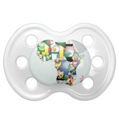 Jambo Habari Africa Beautiful Hello Mama Africa Pacifier Size: BooginHead® Custom Pacifier (0-6 Months) Give your baby the latest in #pacifier fashion with a custom BooginHead® pacifier! Made with a silicone orthodontic #nipple