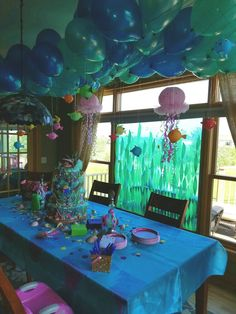 Mermaid baby shower