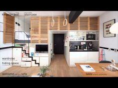 A Clever Hotel Room 'Loft' Designed for Longer Stays «TwistedSifter