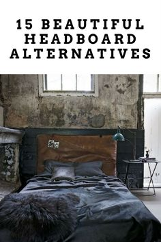 When it comes to decorating your bedroom, your bed will naturally be the focus of the room. But whether you simply don't like traditional headboard and want something different  or all you have is a mattress on the floor and little spare cash,  there lots of ubber cool ways to fill up that space above your bed without necessarily breaking the bank.Here are 15 creative alternatives to the traditional headboard to take your bedroom from dreary to dreamy! My favourite still is the old gym mat…