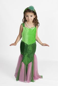 Light up mermaid costume for girls on sale. eBay link is below. $20.79 http://www.ebay.com/itm/Little-Mermaid-Costume-Ariel-Girls-light-up-princess-Glowing-Size-2-10-XS-S-M-L-/151115752612?pt=US_Costumes&var=&hash=item232f3364a4