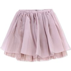 Olympia Le-Tan Knee Length Skirt ($495) ❤ liked on Polyvore featuring skirts, bottoms, pink, pastel pink, pastel pink skirt, glitter skirt, pink skirt, pink knee length skirt and knee length pleated skirt