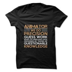 FUNNY ANIMATOR T Shirts, Hoodies, Sweatshirts. CHECK PRICE ==► https://www.sunfrog.com/Faith/Best-Seller--ANIMATOR.html?41382