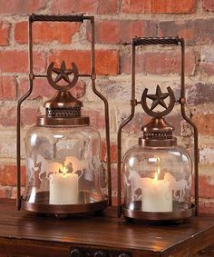 Candles in every room