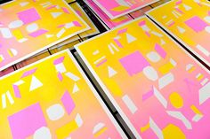 Marcus Oakley A3 Risograph by Landfill Editions