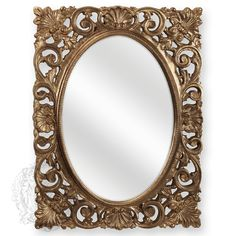 Зеркало прямоугольное ажурное Migliore