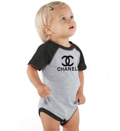 Chanel Baby Baseball Bodysuit – Couture Kids Shop