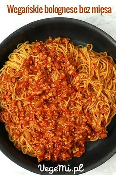 Vegan Lunch Box, Tofu, Bolognese, Food Inspiration, Vegetarian Recipes, Clean Eating, Spaghetti, Cooking