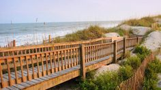 Take the boardwalk down to the ocean at Topsail Beach. This quiet beach community of 500 residents is located on the southernmost tip of Topsail Island, a 26-mile barrier island off North Carolina's coast. The beach comes with a laidback vibe (high-rise development is prohibited here). It's also a great place to find some of the best conch seashells on the East Coast that wash up after a storm, particularly in the late summer or early fall.