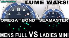 LUME WARS! Omega Seamaster Mens Full vs Ladies Mini