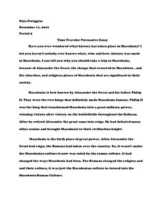Persusasive Essay  Argumentative Essay    Writers And