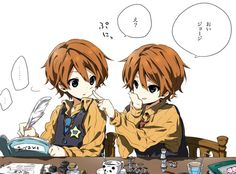 The Weasley Twins; Fred and George