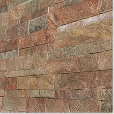BuildDirect®: Roterra Natural Ledge Stone - Quartzite Finished Slate Collection