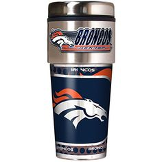 NFL Denver Broncos Metallic Travel Tumbler, Stainless Steel and Black Vinyl, 16-Ounce Great American Products http://www.amazon.com/dp/B00F5VY3RA/ref=cm_sw_r_pi_dp_gURQvb1D4H4RY