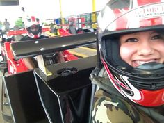 Went go carting