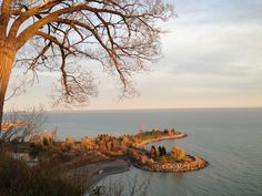 Scarborough Bluffs Park - 10 min drive east of Toronto. Beautiful view of the park. Photo was taken in the Fall 2012.