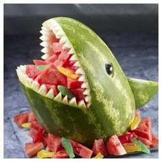Good way to get my babies to eat fruit!