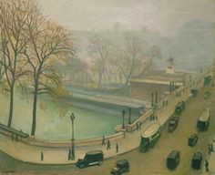 The Pont Neuf, Paris, (oil on canvas), Marquet, Albert / Private Collection Salford, Georges Seurat, Pierre Auguste Renoir, Great Paintings, Landscape Paintings, Monet, Maurice Utrillo, Carl Spitzweg, European Paintings