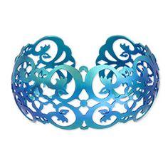 Holly Yashi - Best Sellers - Bracelets - Savannah Cuff Bracelet is a richly filigreed treasure